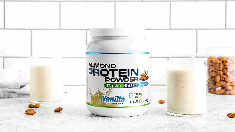 Vanilla Almond Protein Powder