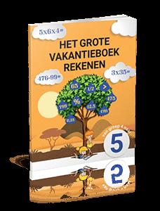 Het Grote Vakantieboek Rekenen - van groep 4 naar groep 5