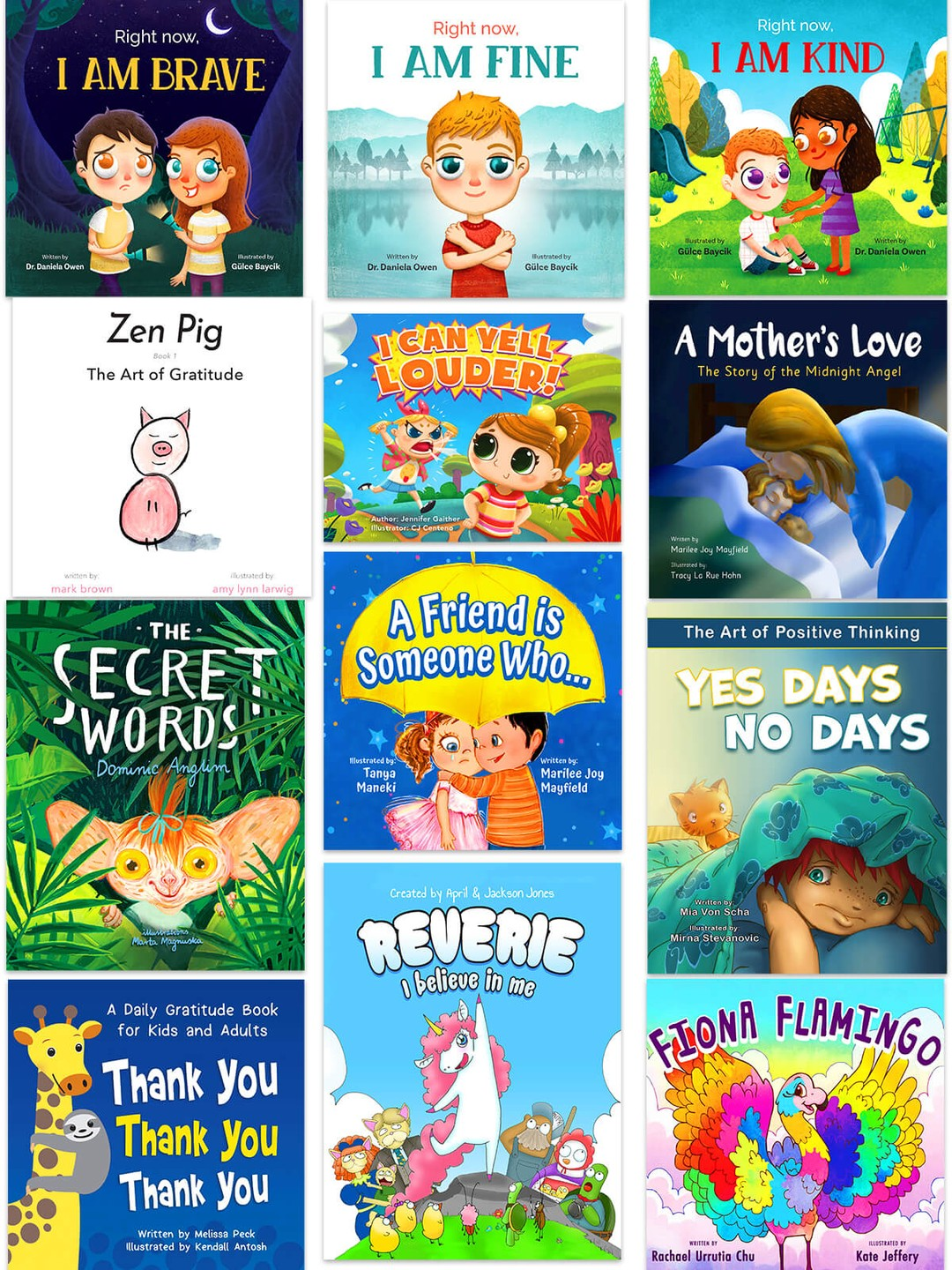 Emotional Development Bundle (12 Books)