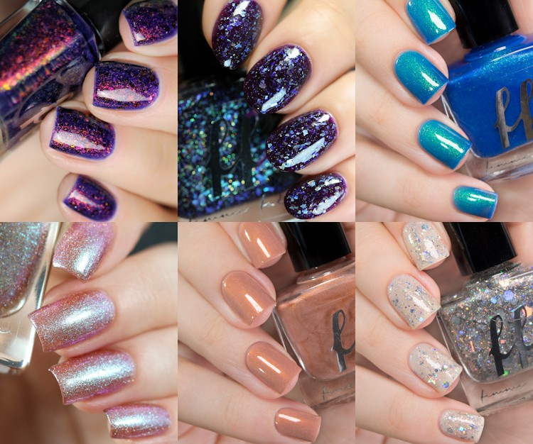 Femme Fatale Practical Magic Swatches of the Full Set.