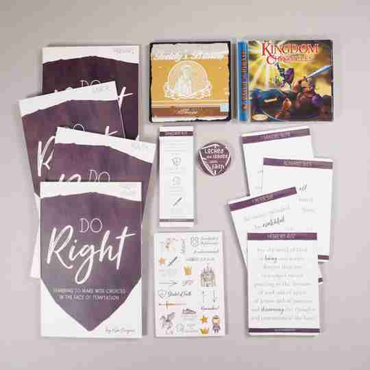 Do Right family Bible study bundle