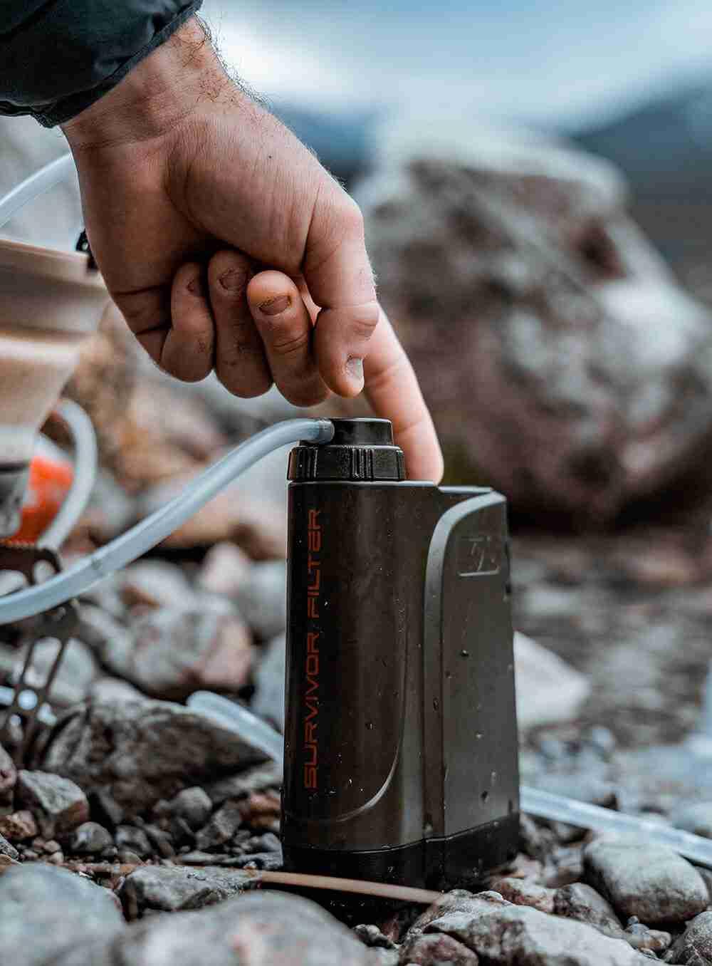 For the tech-savvy, modern adventurist Survivor Filter Electric PRO X