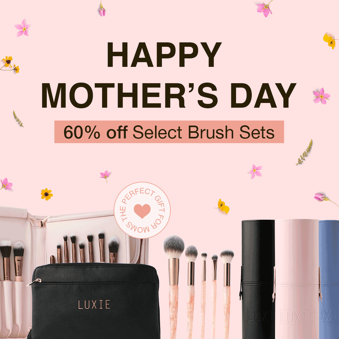 Mother's Day Sale, 60% off Luxie's best selling sets.