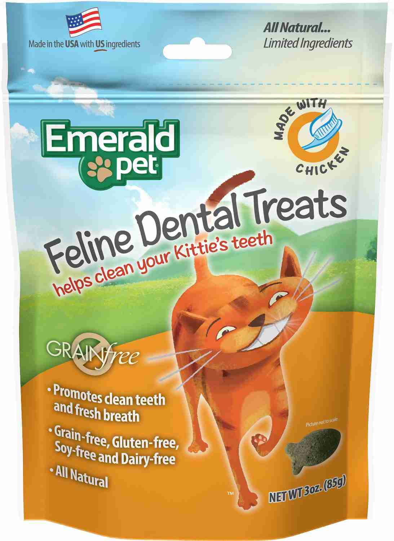 Emerald Pet Feline Dental Treats