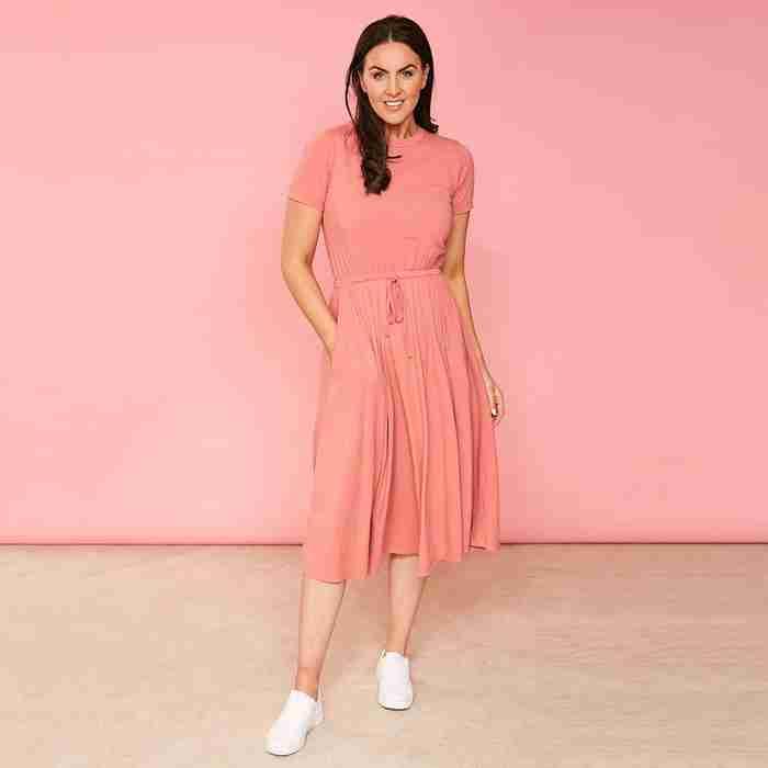 Piper Dress(Dusty Rose)
