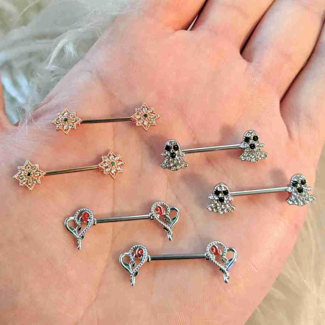 nipple piercings