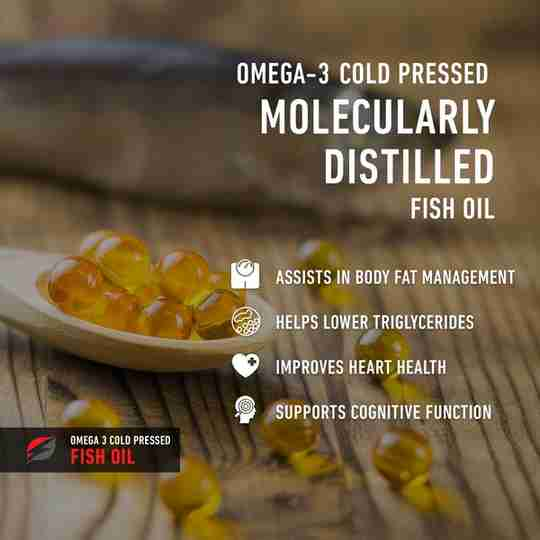 Strength Genesis Omega 3 Fish Oil Ad