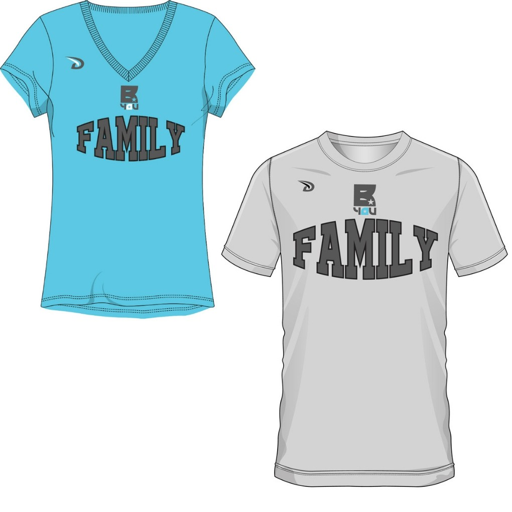 BYOU Family Fan Shirt