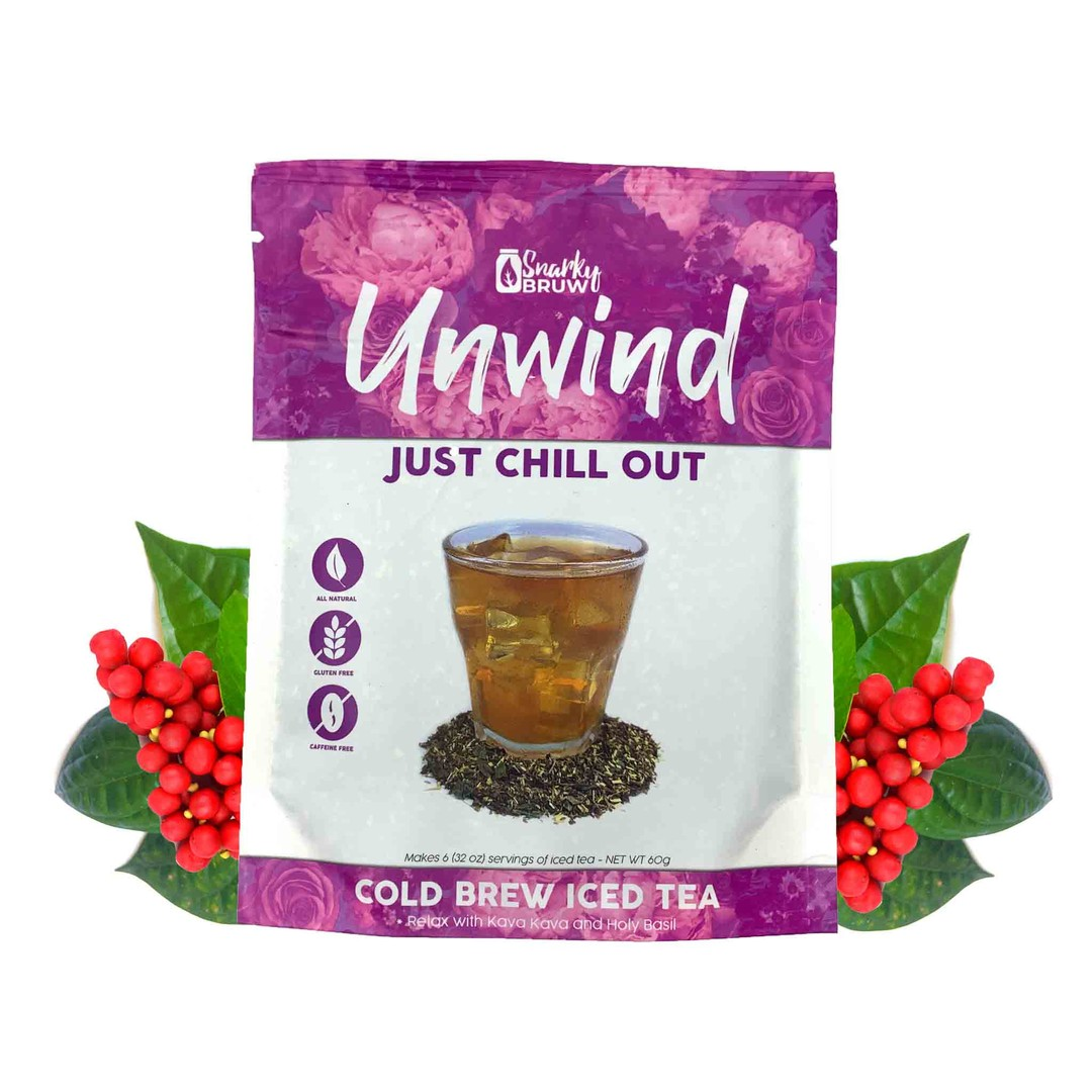 SnarkyBRUW Just Chill Out - Relaxing Loose Leaf Tea