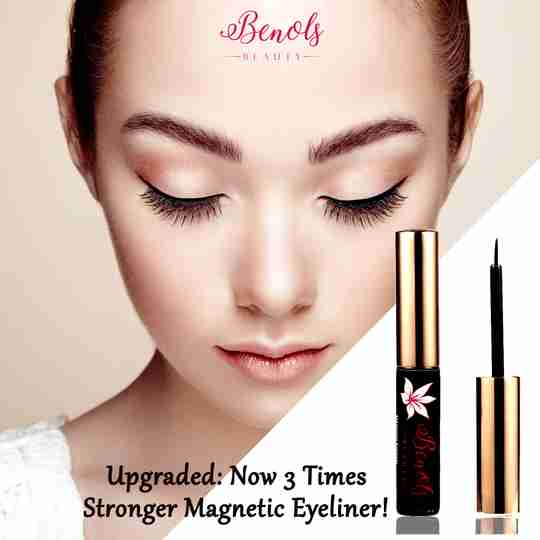 Benols beauty Magnetic eyeliner and lash set