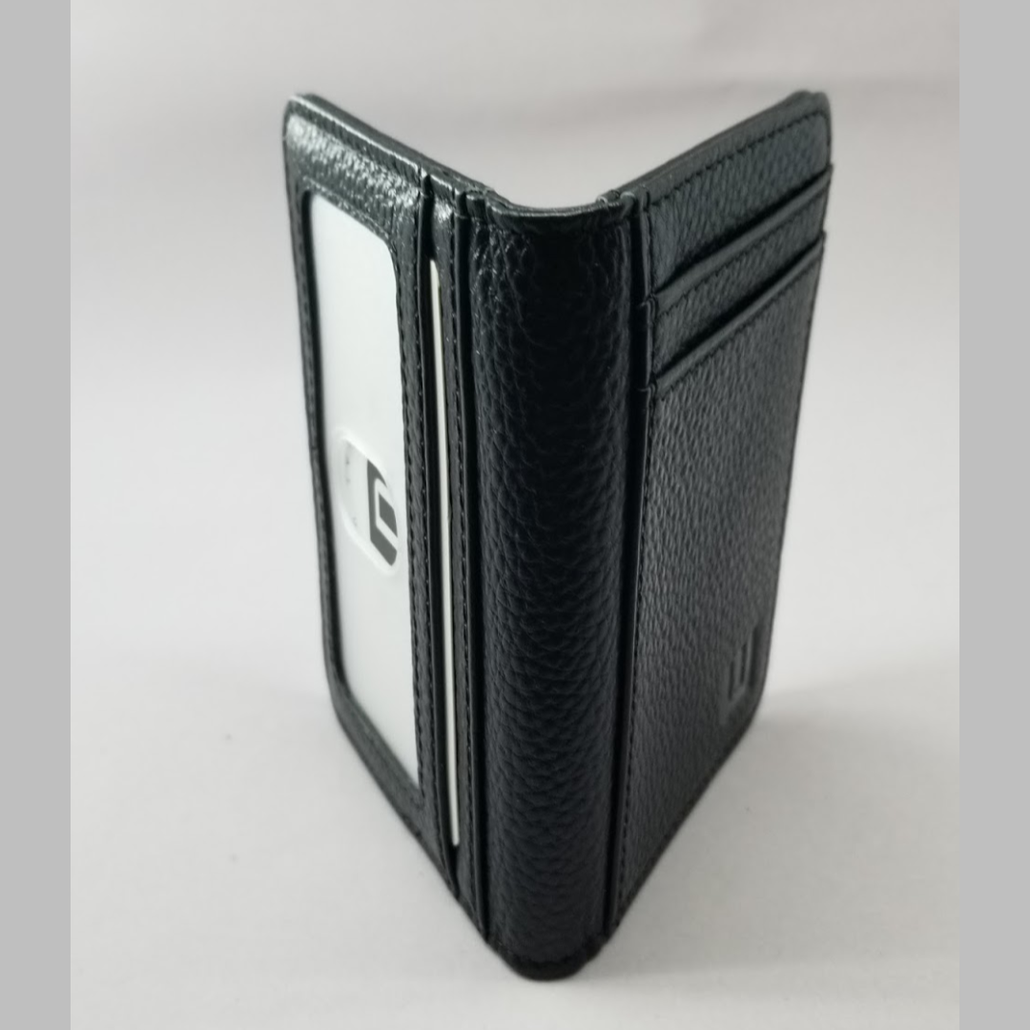 Card Holder with RFID and ID Window - S/ID