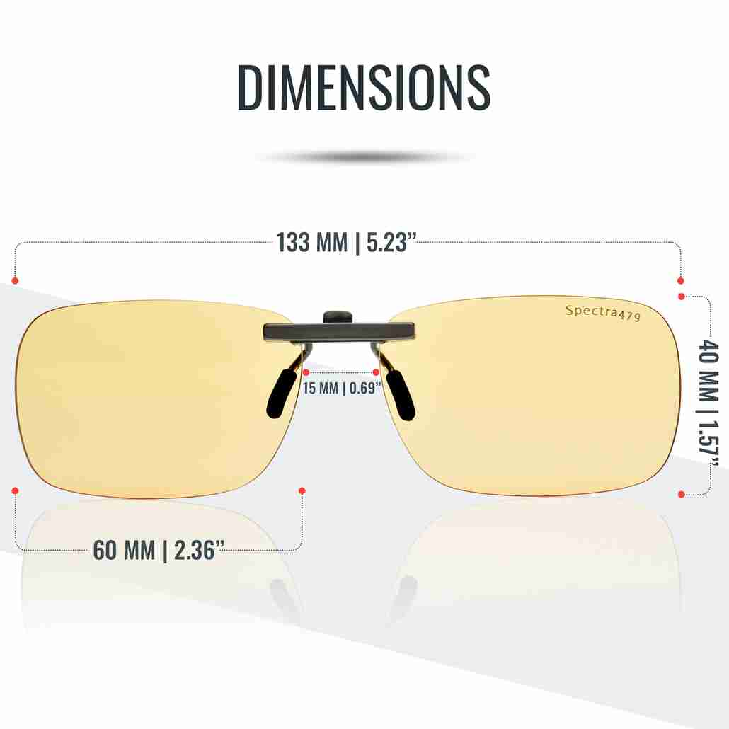 Fits most rectangular style frames