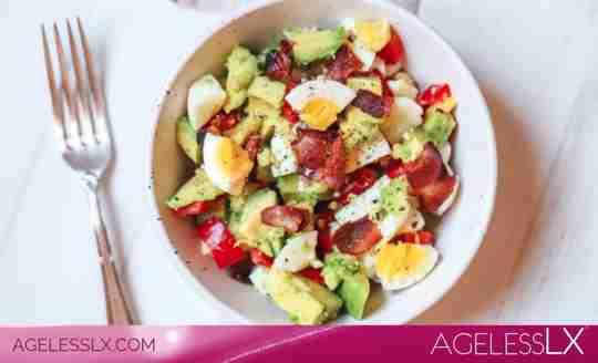 Egg,Bacon & Avocado