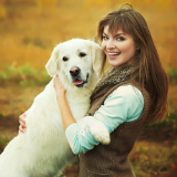 Photo of Labrador Retriever & Owner