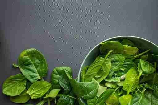 healthy greens spinach