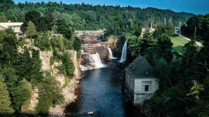 Lake Champlain and the Ausable Chasm