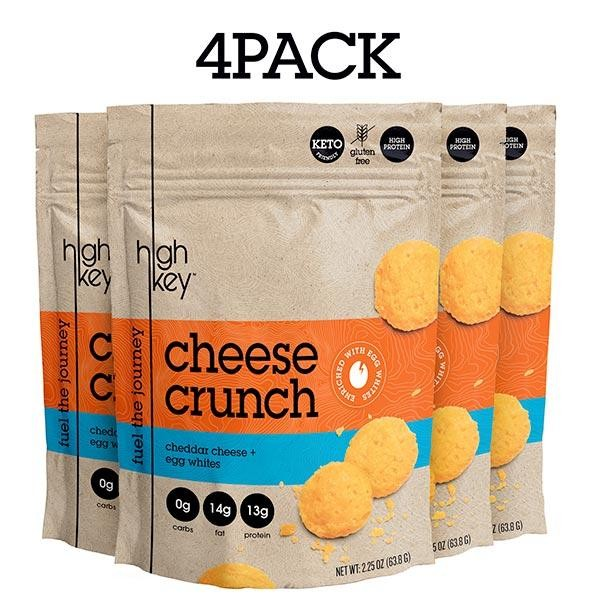 HighKey Cheddar Cheese Crunch Keto Snack