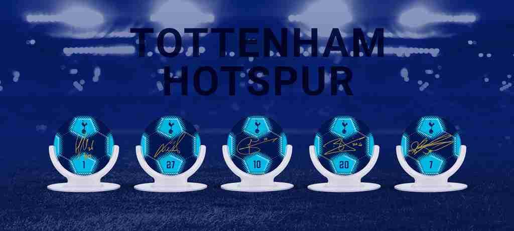 Tottenham Hotpurs landing page