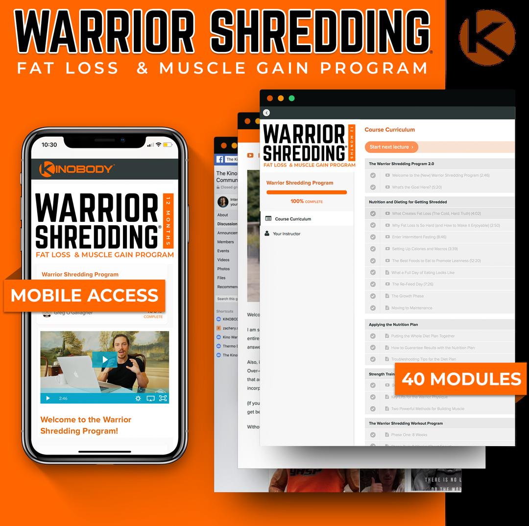 Warrior Shredding Program Example