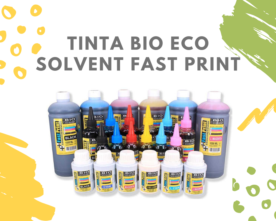 tinta bio eco solvent fast print
