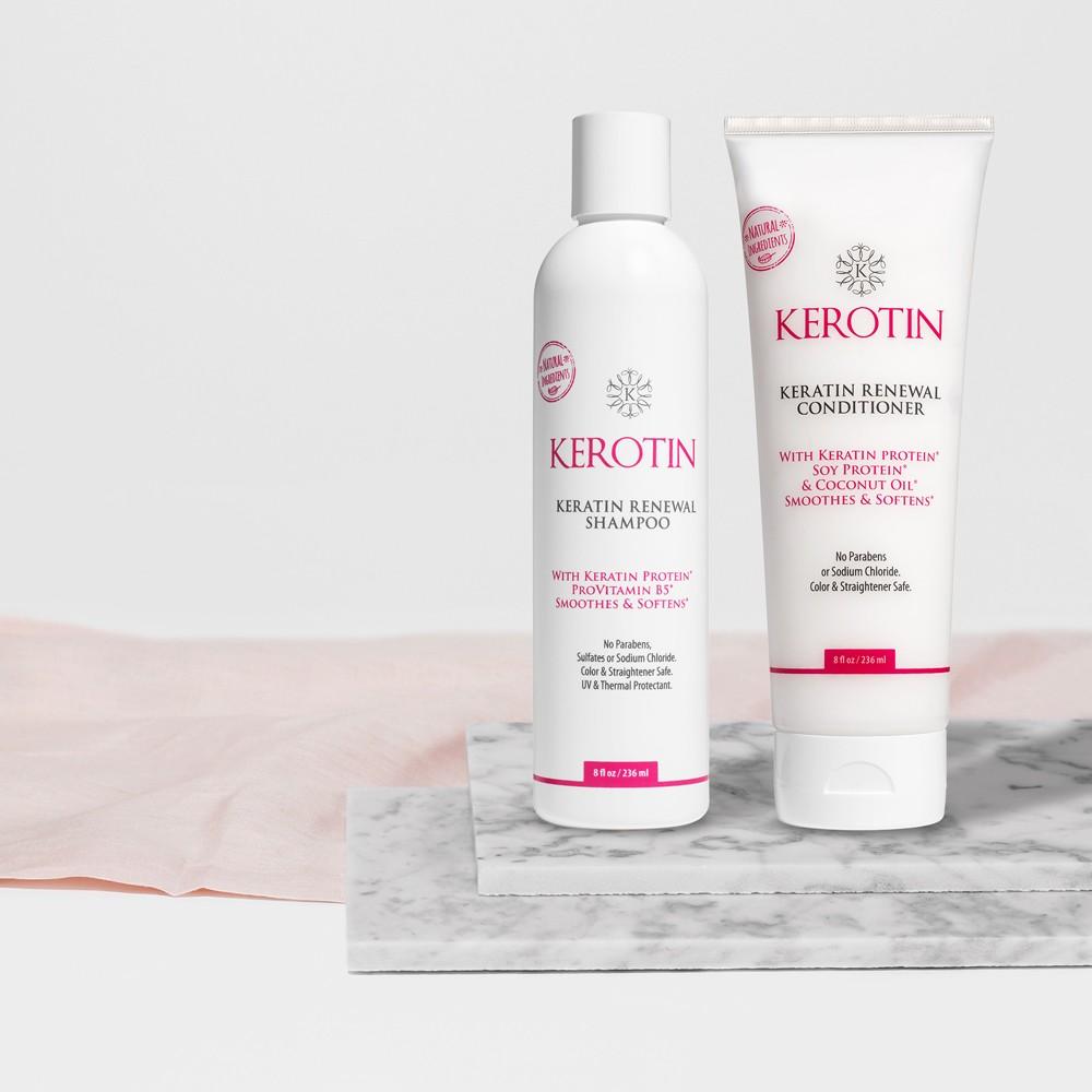 Keratin Renewal Shampoo & Conditioner
