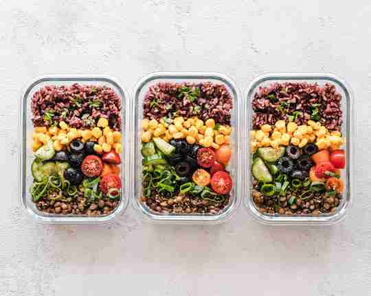 Meal Prepped Food