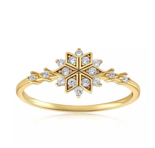 Blush and Bar Sophia snowflake ring