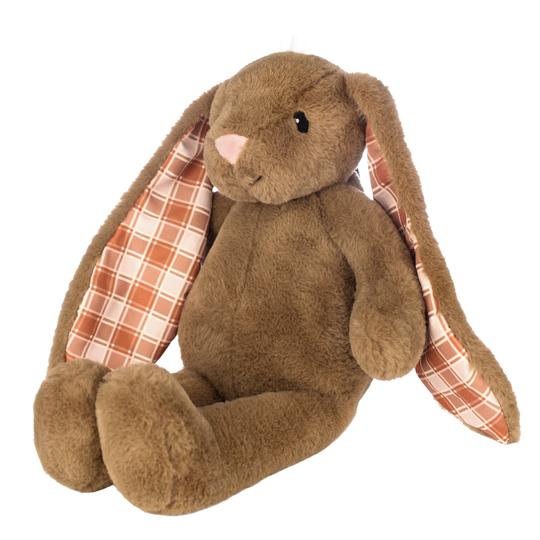 Brown 18 inch Plush Bunny