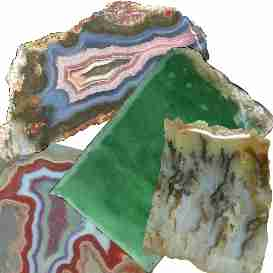 Slabs and Rough at Edward Allen Gems