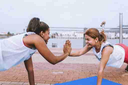 accountability partner workout friend