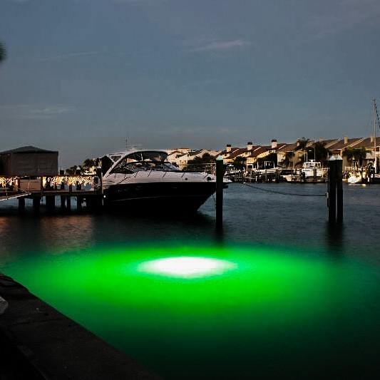 Submersible-LED-Underwater-Lights-Mega-Watt-Green