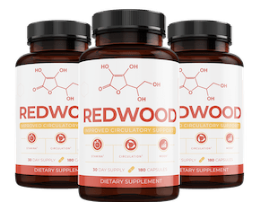 3 bottles of Redwood