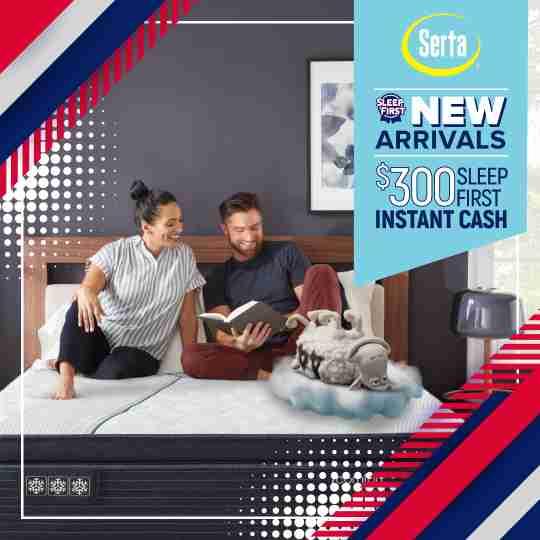 Serta iComfort New Arrivals Mattress Promotion
