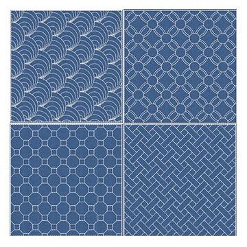 sashiko thread and patterns