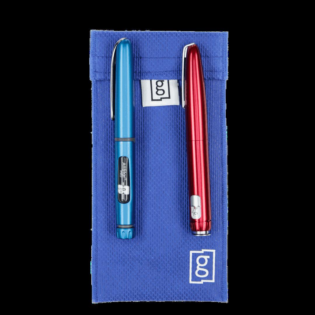 Glucology™ Insulin Cooler bags   Duo Pen Pouch