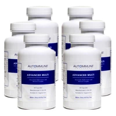 Advanced Multi - Multivitamin and Mineral Complex - Six Pack