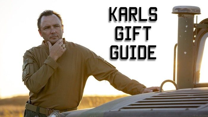 tactical rifleman - karl's gift guide youtube video