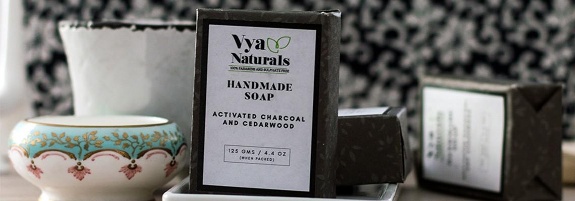Charcoal Handmade Soaps