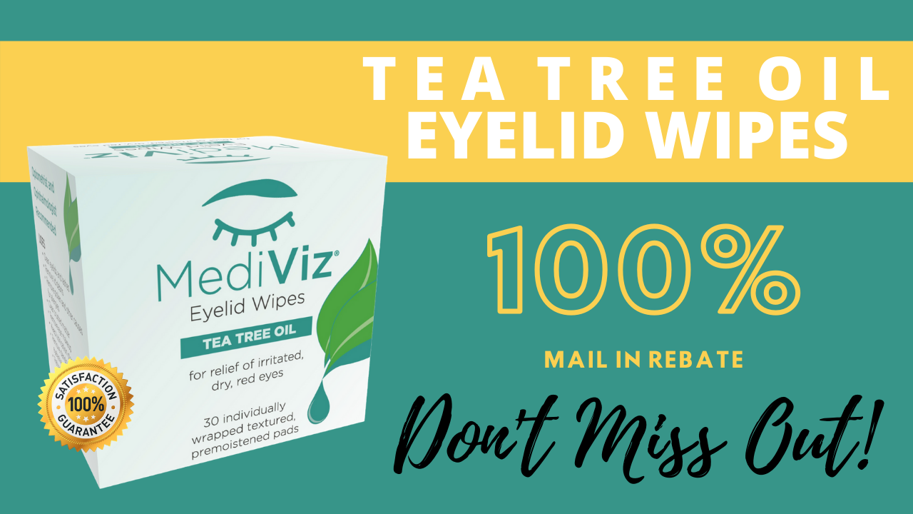 Tea Tree Eyelid Wipes