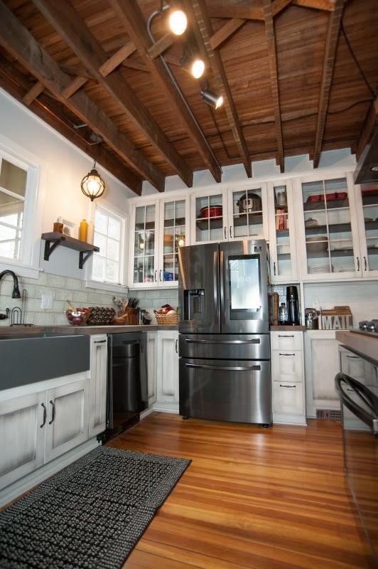 Rustic Farmhouse Kitchen Countertops
