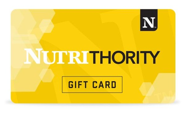 Get a FREE $10 Gift Card with a Nutrithority Video Review