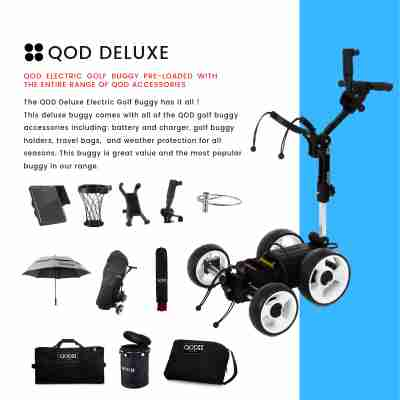 QOD Deluxe 2020 Electric Golf Buggy