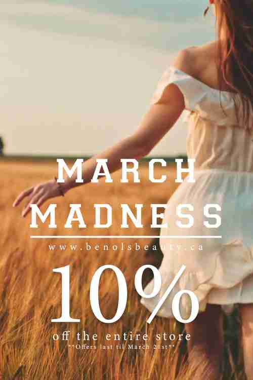 Benols Beauty March Madness Spring Sale - Beauty Products