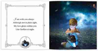 Angel Grandma Internal Book Page