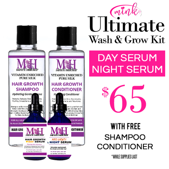 Mink Hair Wholesale Ultimate Wash and Grow Kit