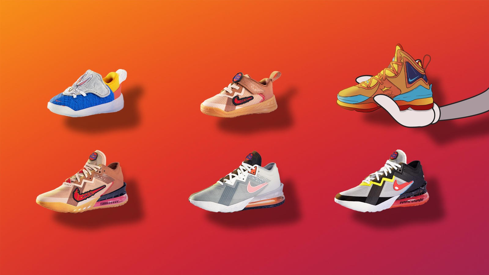 Space Jam: A New Legacy Sneaker Releases