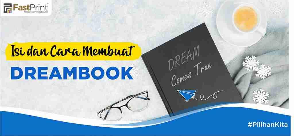 dreambook, cara membuat dreambook