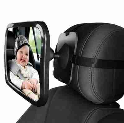 Back Seat View Mounted Mirror - Infant Kingdom