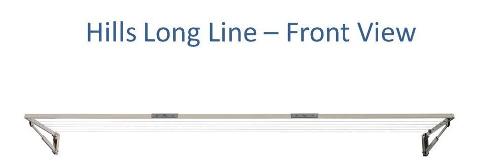 3.4m clothesline hills long line