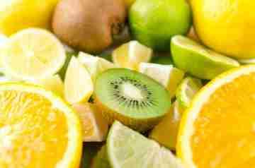 Vitamin C, Orange, Lemon, Kiwi